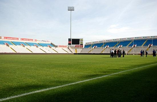 Stadion w Nikozji na Cyprze - fot. Tomasz Janus / sportnaukowo.pl