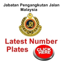 JPJ Latest Plate Number