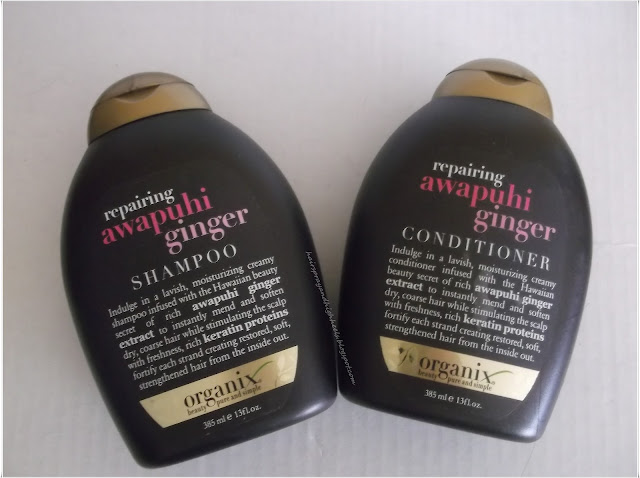Organix Awapuhi Ginger Shampoo & Conditioner: Review