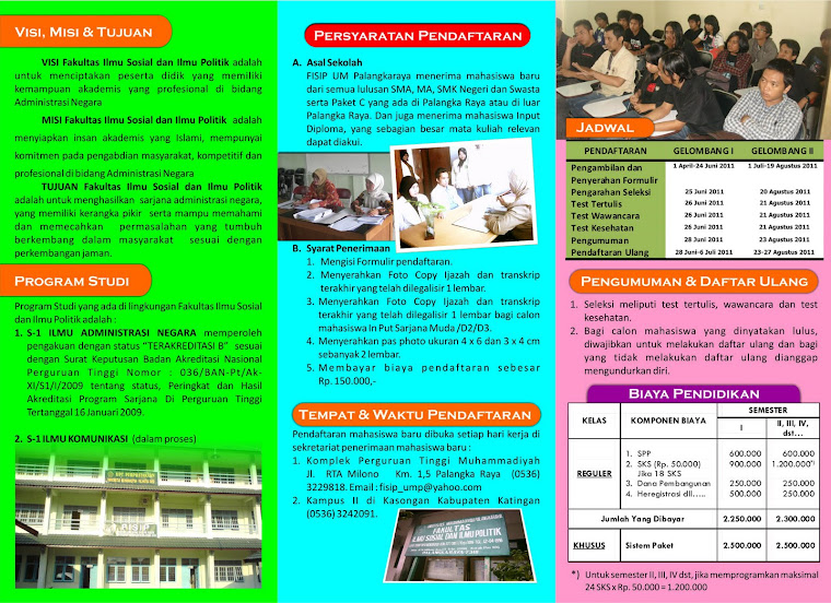 Contoh Brosur Universitas Unika Atma Jaya Contoh Brosur Universitas ...