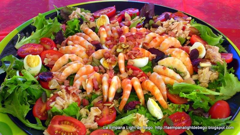 ensaladas especiales y festivas cocina