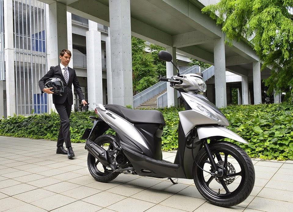 Persaingan Sengit 5 Motor Matic Terbaru 2015 Suzuki Address