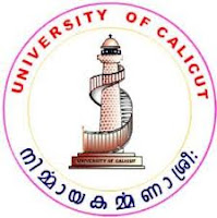 Calicut University Time Table 2013