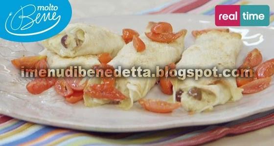 Cannelloni di Pane Carasau alle Melanzane di Benedetta Parodi