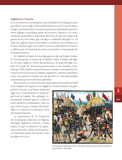 La formación de las monarquías europeas: España, Portugal, Inglaterra y Francia - Historia 6to Bloque 5 2014-2015