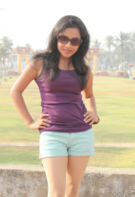 Prithishka mythili in shorts