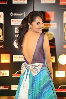 Anchor Anasuya Stills at IIFA Utsavam Awards 2016 Day 2 (13)