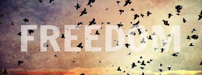 couverture facebook quotes freedom