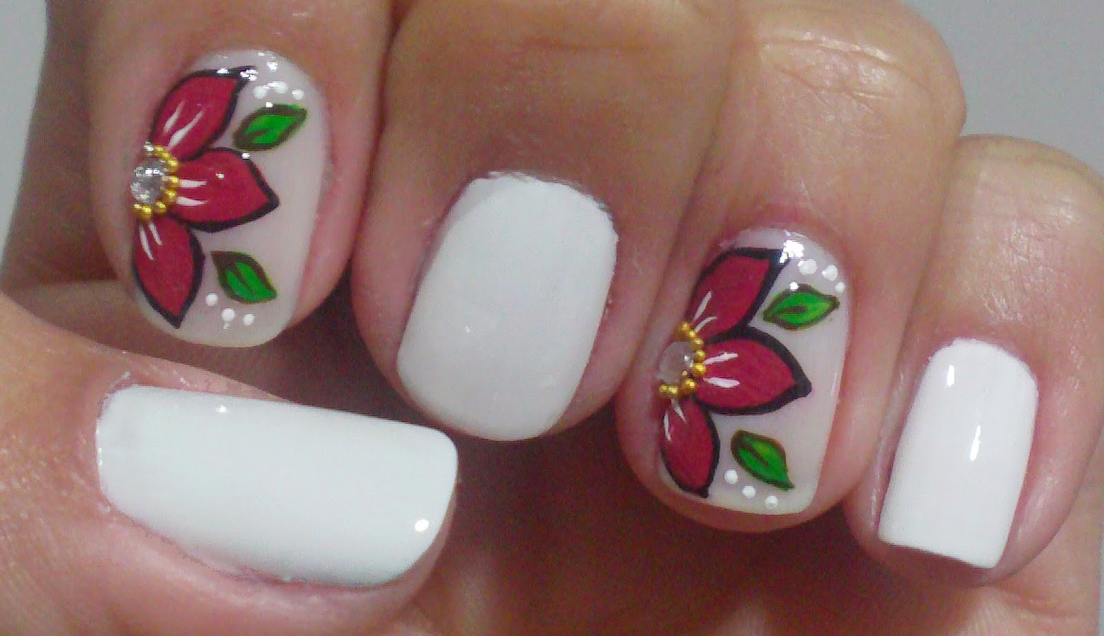 Fotos De Flores De Unhas Decoradas - Fotos de Unhas Decoradas Sofotos org