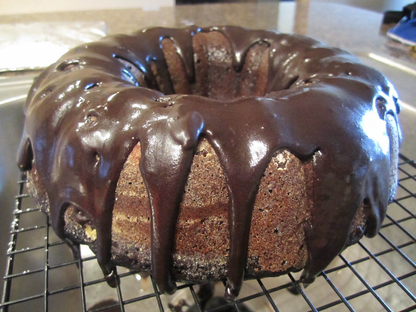 MIZZ's Culinary Creation: Chocolate Banana Bundt Cake