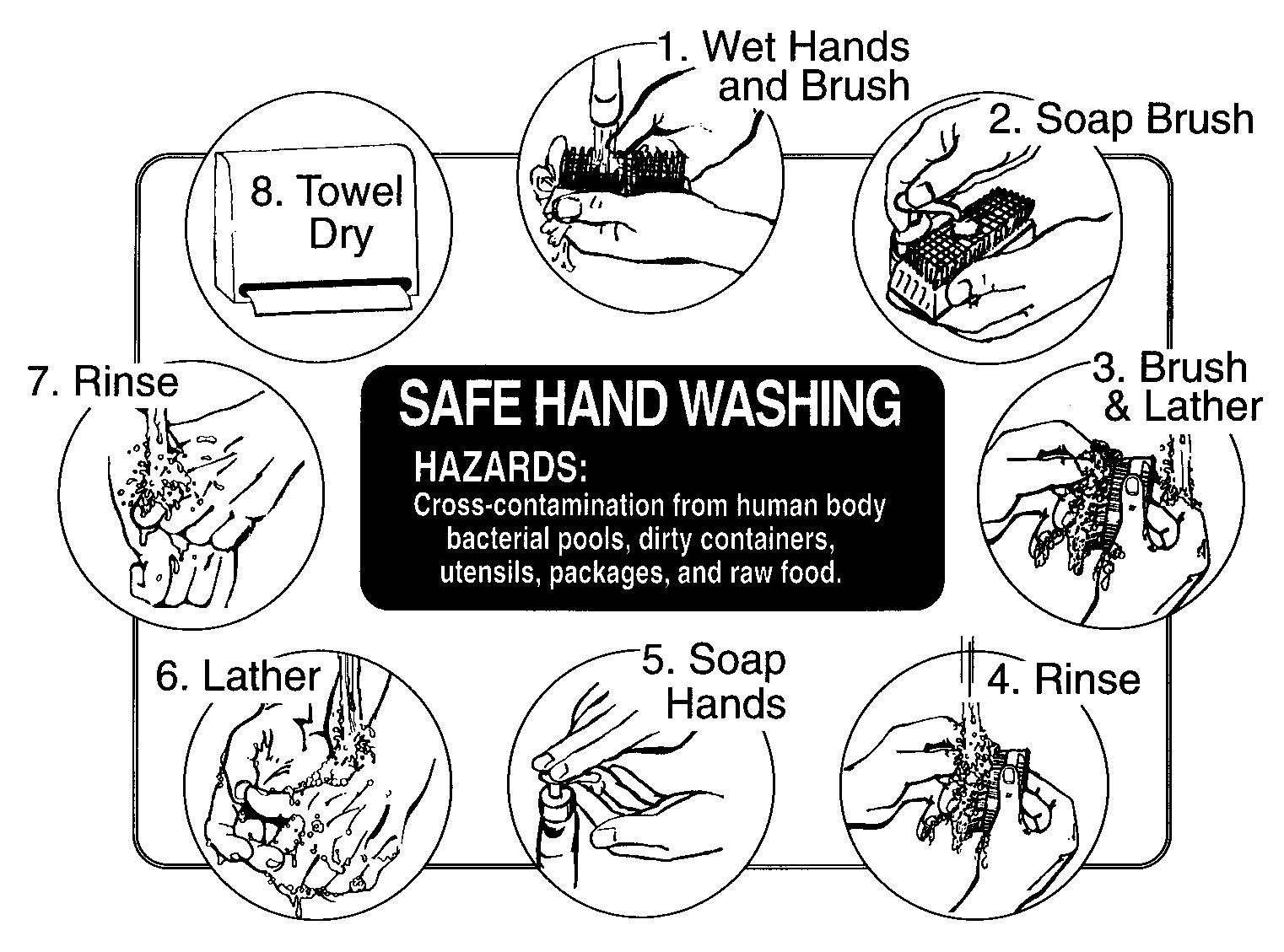Hand washing can prevent the body from infection