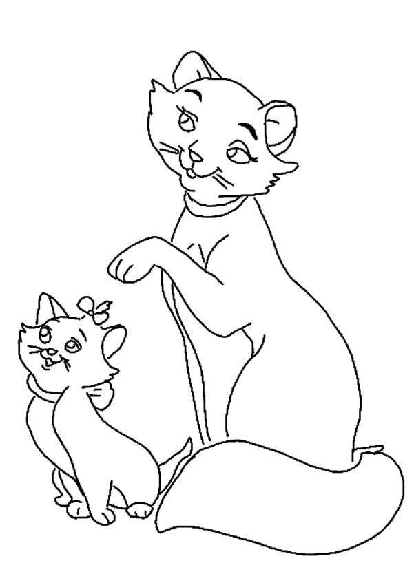 marie the cat coloring pages - photo#15