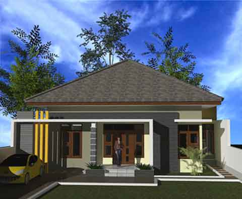 kumpulan gambar desain rumah minimalis modern model