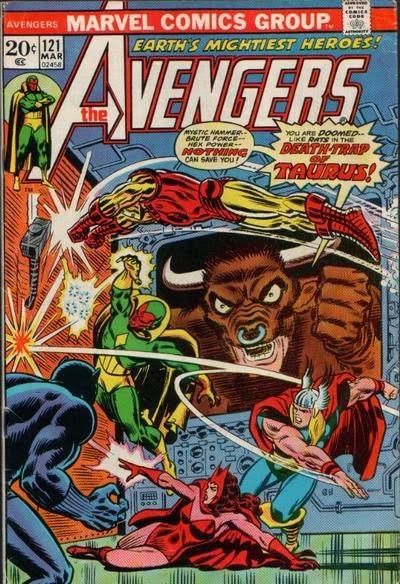 Avengers #121, Zodiac
