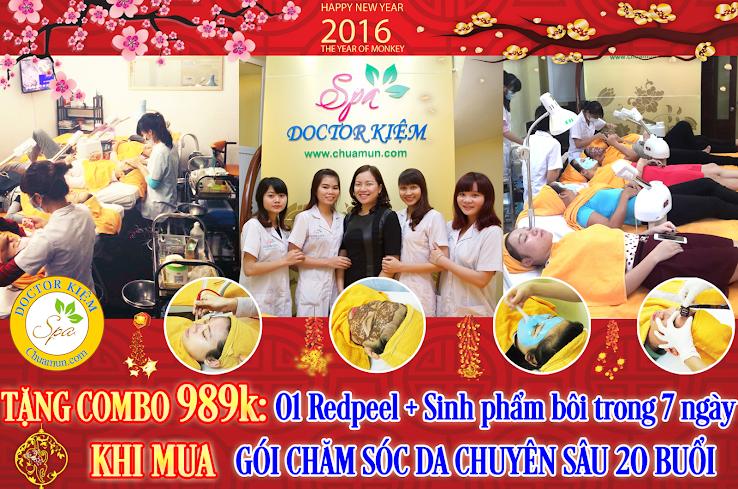 Nhân dịp Năm mới, Doctor Kiệm Spa gửi tới quý khách hàng chương trình Khuyến mãi siêu hấp dẫn!