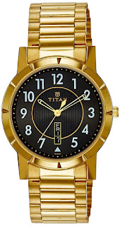 Buy Titan Analog 1647YM05 Black Dial Men's Watch At Rs.1,895 Only