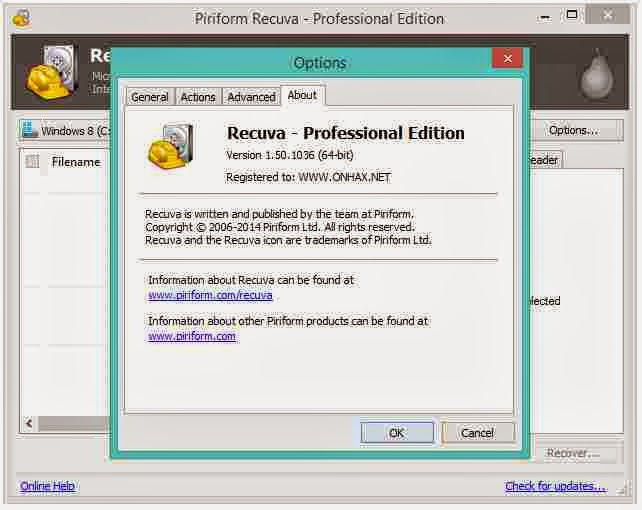 Download Recuva 1.50 PRO with Keygun