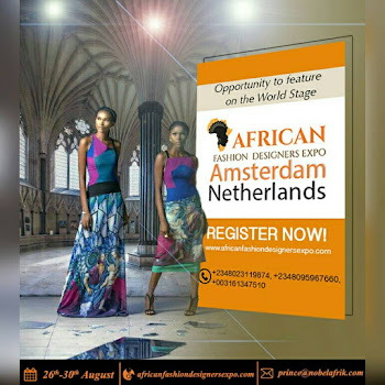 AFRICAN FASHION DESIGNERS EXPO AMSTERDAM 2017