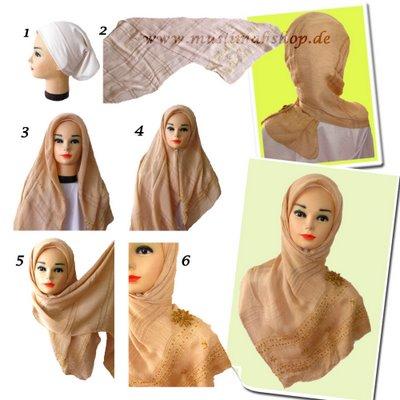 Jilbab on Gambar Gambar Cara Memakai Jilbab Modern