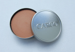 Cargo cosmetics bronzer light swatched