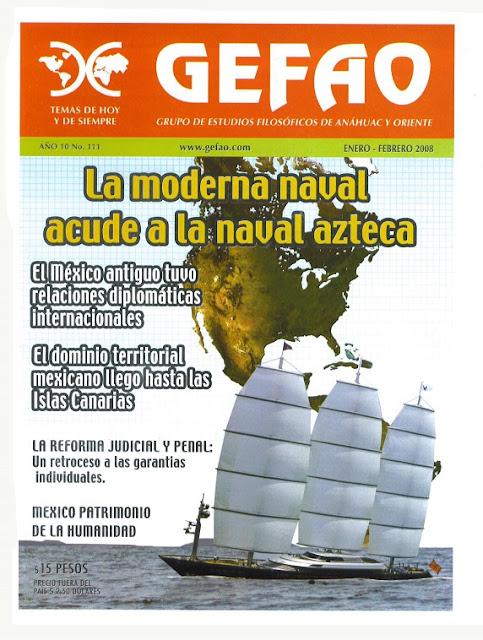 La moderna Naval acude a la naval Azteca Revista GEFAO