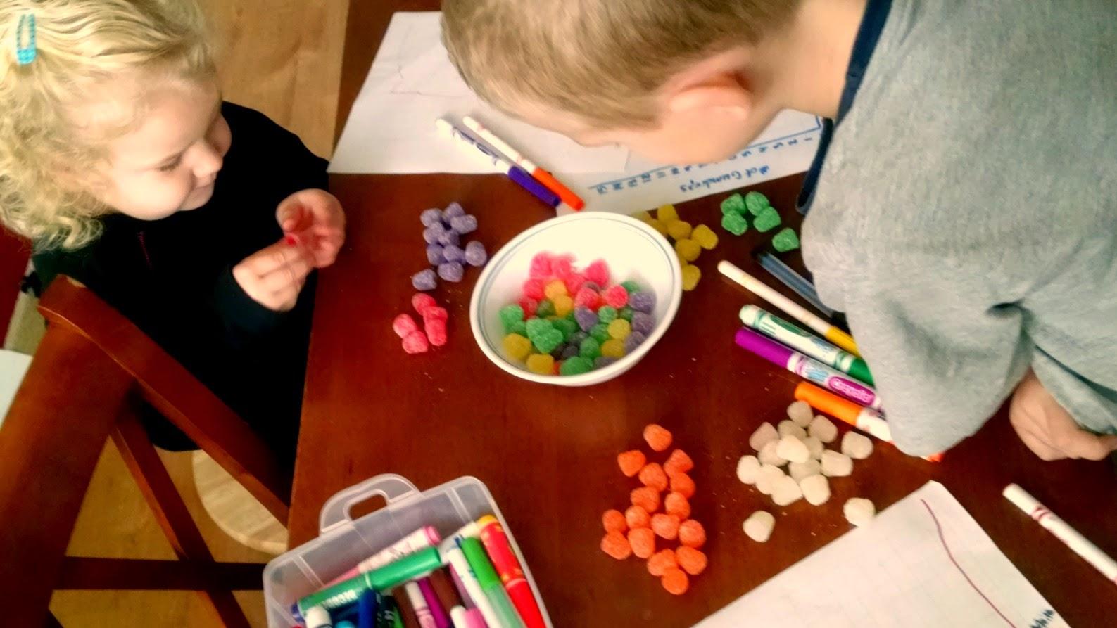 Gumdrop Graphs   Candy Math The Science Kiddo