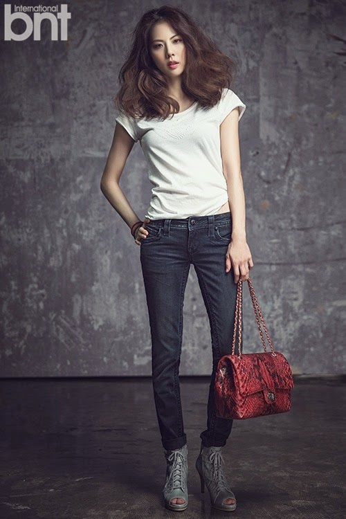 Park Ji Yoon - bnt International March 2014