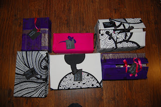 DIY Fabric-Covered Boxes by Cicely Ingleside