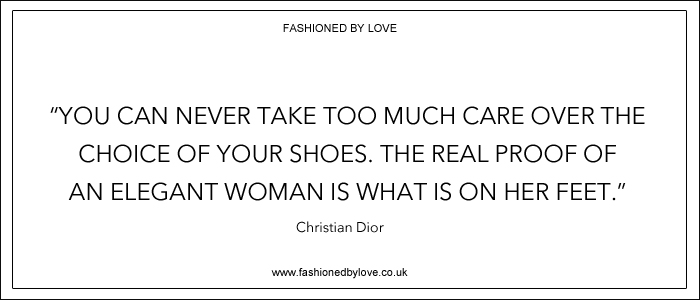 via fashioned by love | best fashion & style quotes | Christian Dior