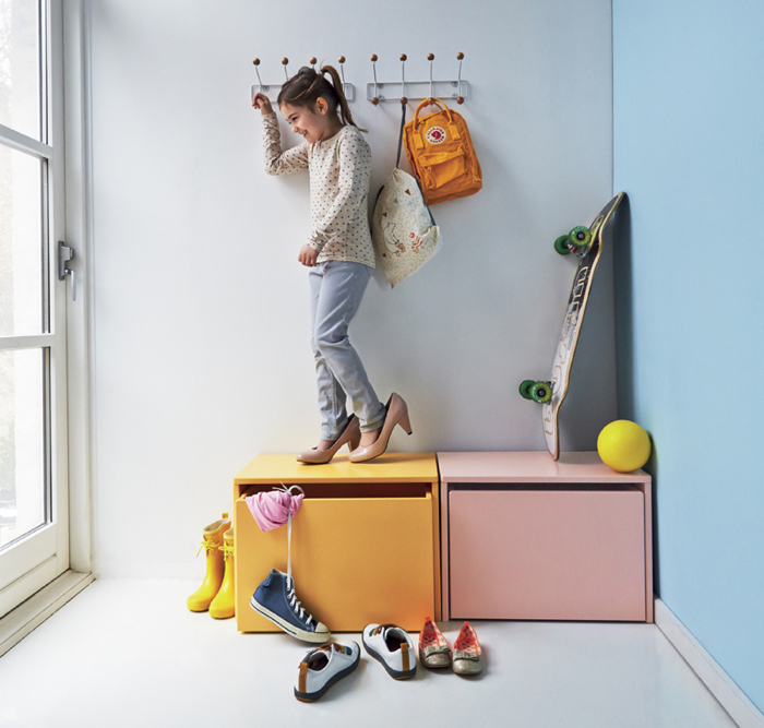 storage bench from flexa denmark