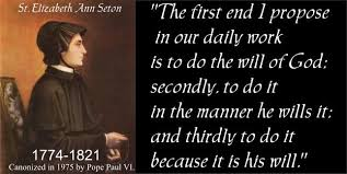 Feast of Saint Elizabeth Ann Seton