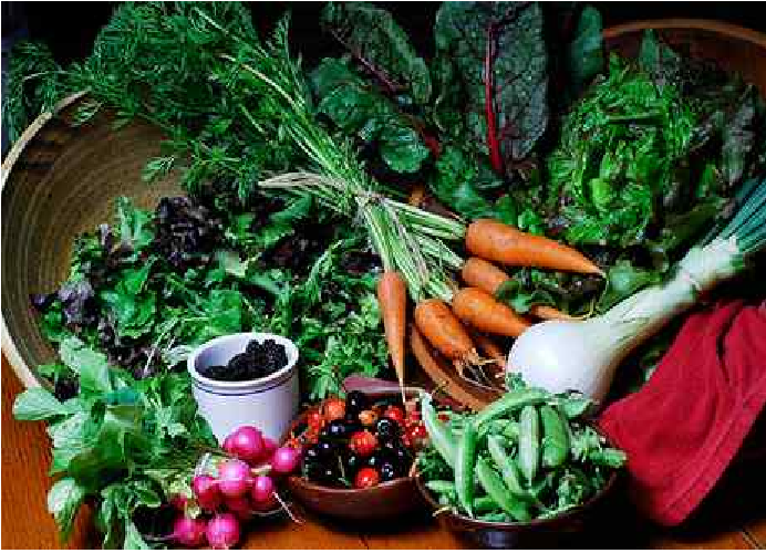 Sayuran hijau dan merah baik Untuk Kesehatan Kulit