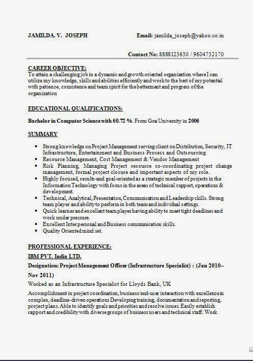 sample resume for manual testing sample resume manual tester for test engineer testing