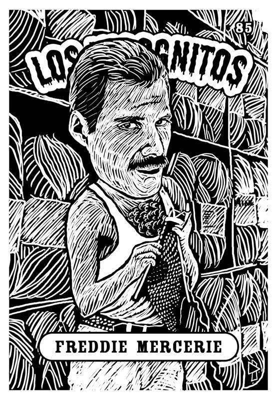 Freddie Mercury Los Incognitos