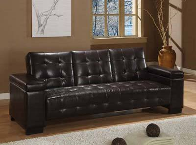 modern leather sofa beds