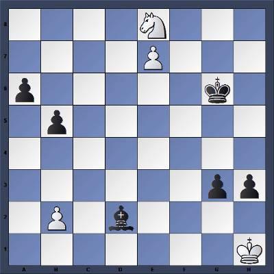 Echecs et Strategie : Les Noirs jouent et matent en 6 coups