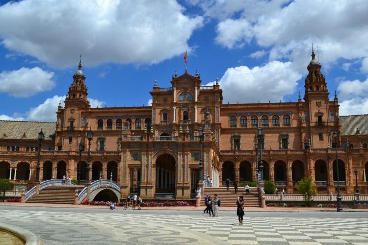plaza de espana seville sevilla