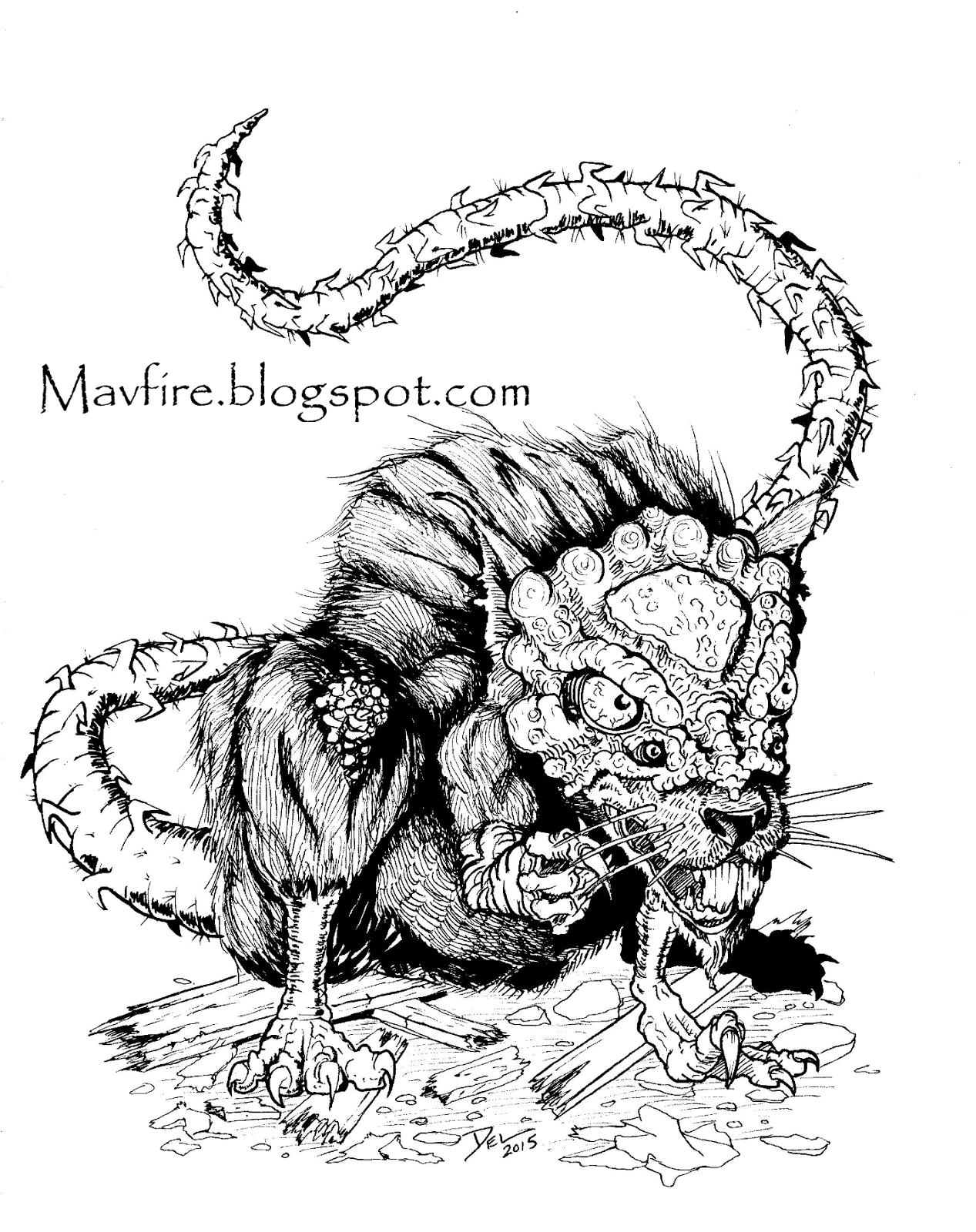 Hesaki Rat by Del Teigeler, Mavfire