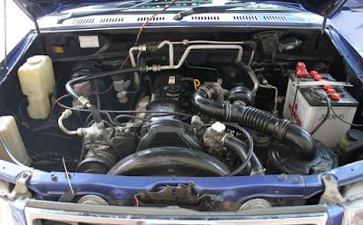 Foto Mesin Kijang Kapsul 2400cc 2.4 liter