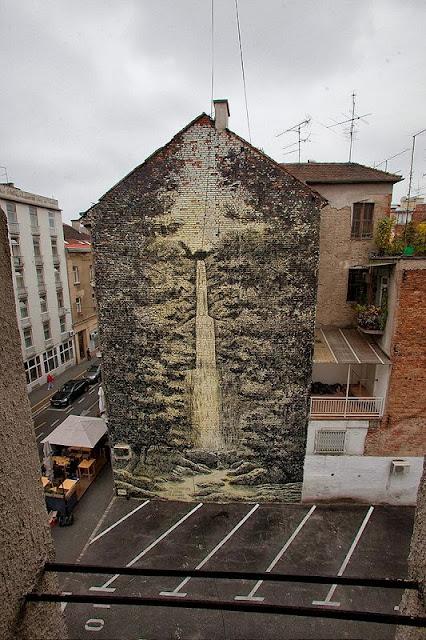Street Art By Miron Milic For The MUU Street Art Festival In Zagreb, Croatia. 2