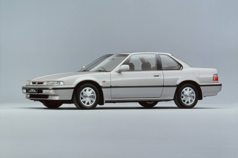 Honda Prelude on 1991 Honda Prelude White