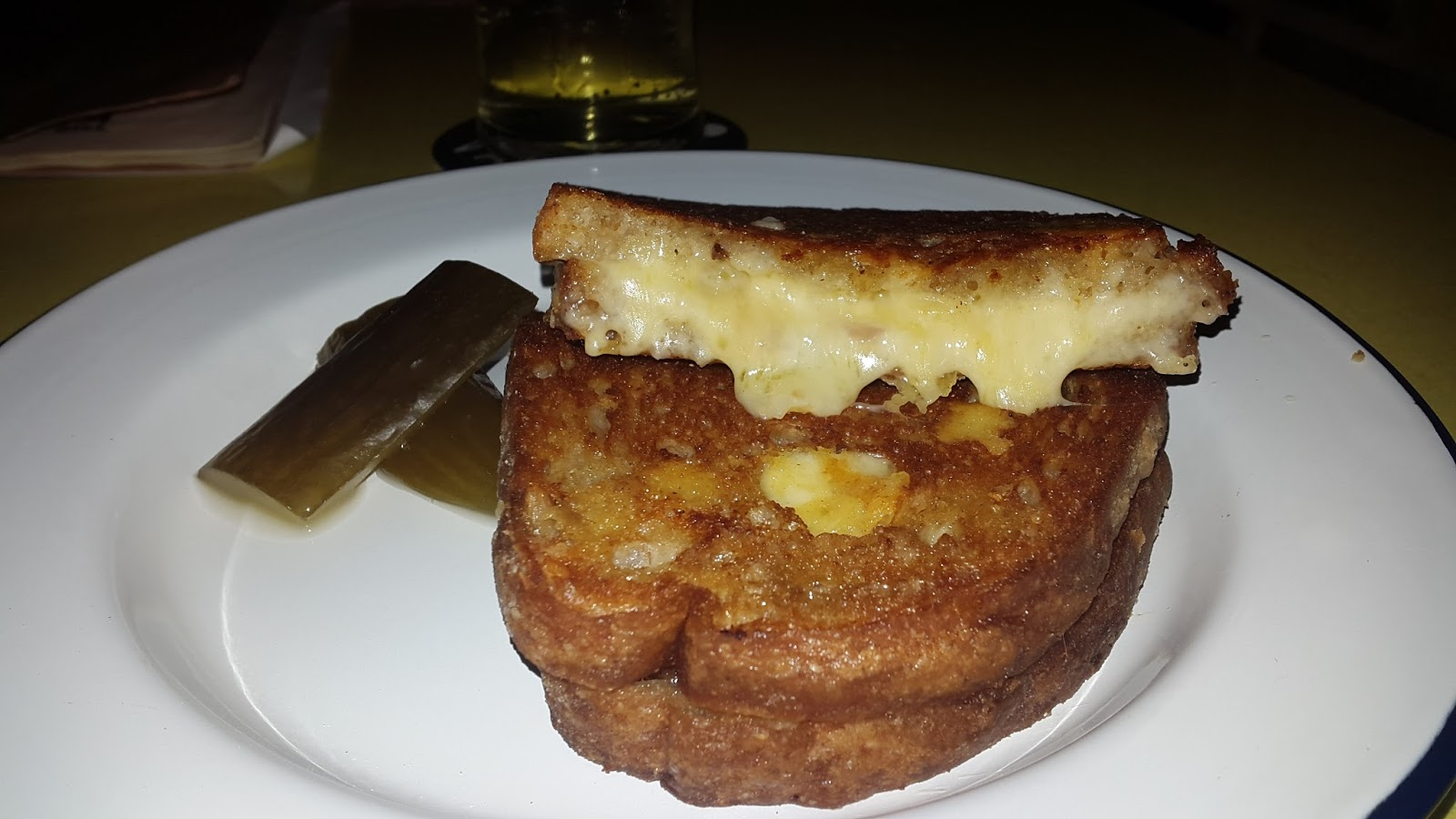... Burger Blog: [Meat Free January] Grilled Cheese from The Cheese Truck