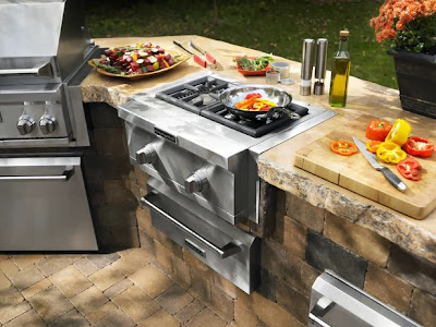 Peralatan Dapur Luar Ruangan ( Desain Dapur Outdoor)