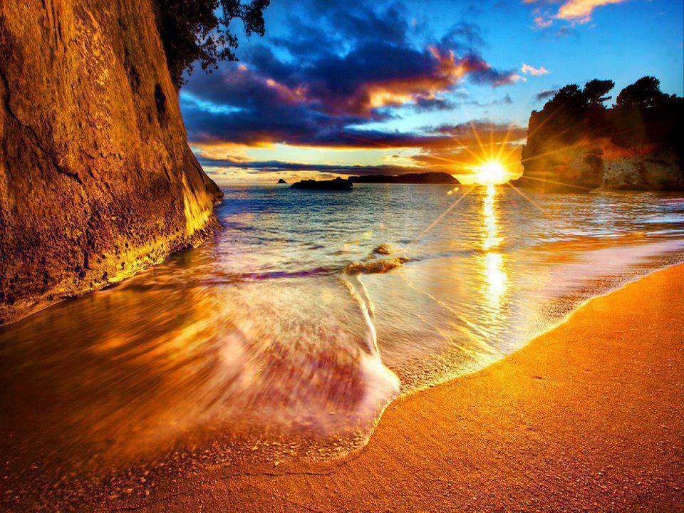 Cathedral Cove New Zealand Beach