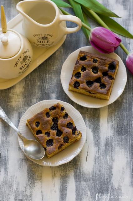 Ciasto z borówką przepis