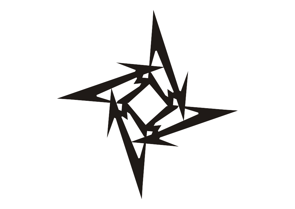Download Logo Metallica Ninja Star Vector