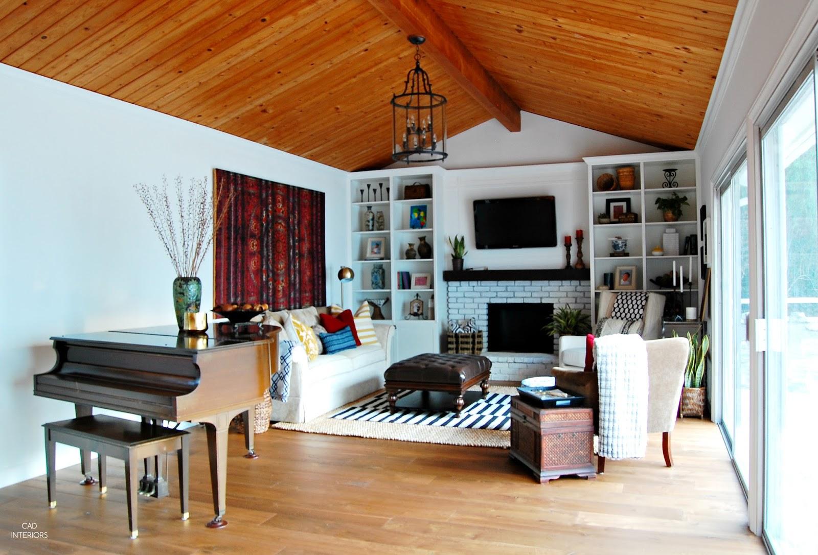 modern bohemian eclectic transitional vintage mid-century interior design budget design decorating home improvement DIY
