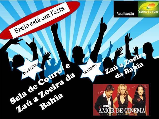 PROGRAMAÇÃO DA FESTA DO BREJO 2013: