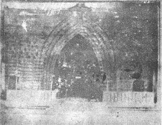 Dapitan Church Curtains - Jose Rizal's Painting