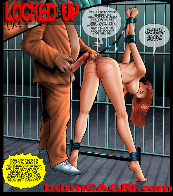 Locked up comic this week!